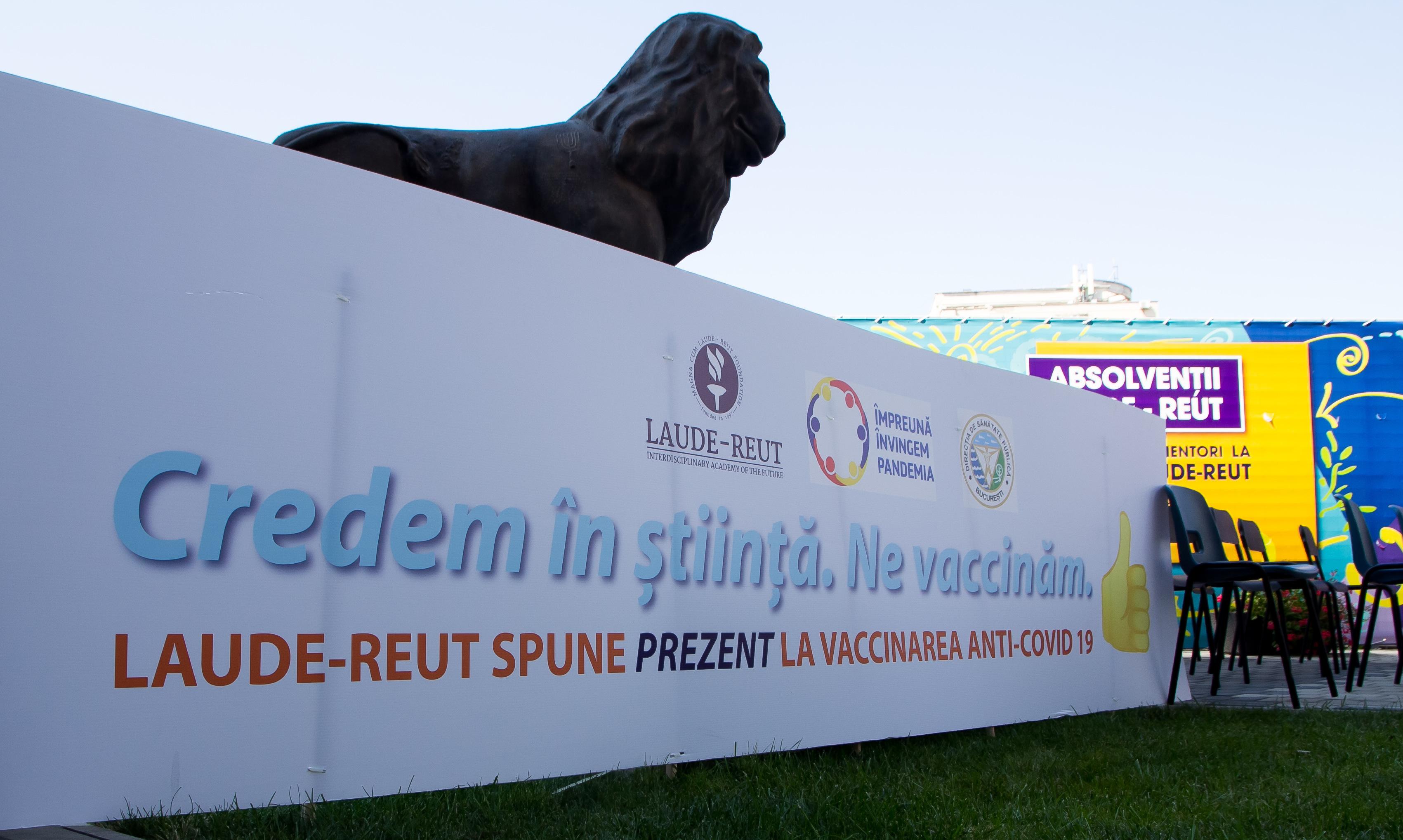 Primul centru de vaccinare in scoala